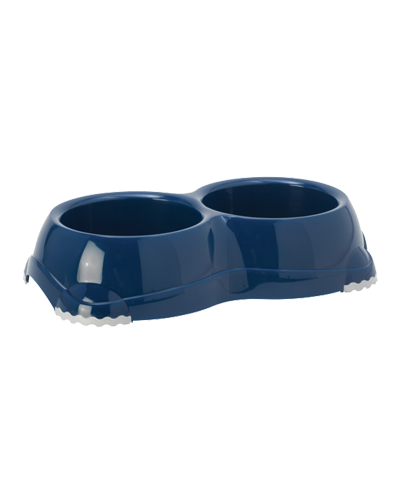 Picture of Moderna Smarty Dual Pet Bowl 2.276 Cups - Blueberry