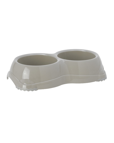 Picture of Moderna Smarty Dual Pet Bowl 2.276 Cups - Grey