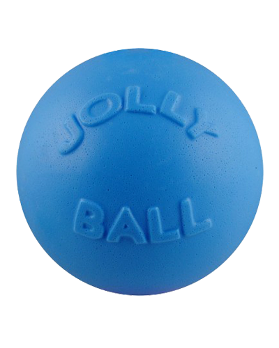 "Picture of Jolly Pet Bounce-N-Play Blueberry Scented 4.5"" Ball"