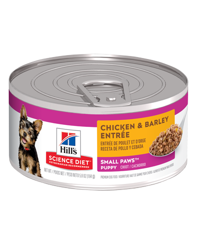 Picture of Hill's Science Diet Puppy Small & Toy Chicken & Barley Entrée - 5.8 oz.