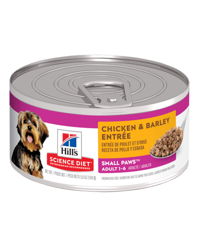 Picture of Hill's Science Diet Adult Small & Toy Breed Chicken & Barley Entrée - 5.8 oz.