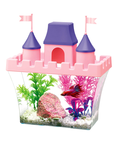 Picture of Aqueon Princess Castle Aquarium Kit - .5 Gallon