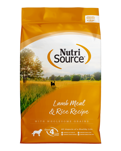 Picture of Nutrisource Lamb Meal & Rice Formula - 33 lbs.