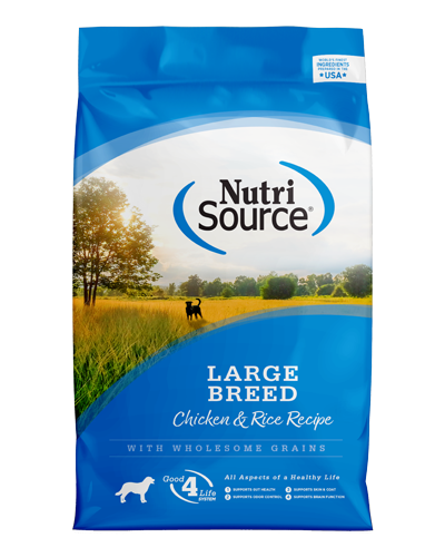 Picture of Nutrisource Large Breed Adult Chicken & Rice Formula - 33 lbs.