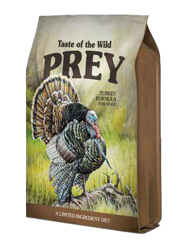 Picture of Taste Of The Wild Prey Grain Free Limited Ingredient Formula Turkey Trout - 25 lbs.