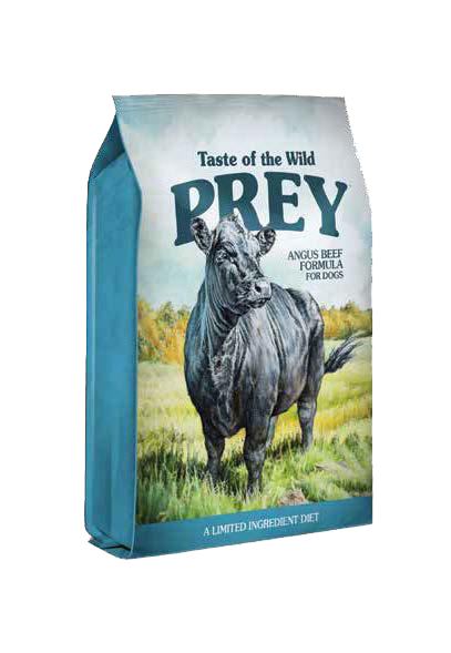 Picture of Taste Of The Wild Prey Grain Free Limited Ingredient Formula Adult Angus Beef - 25 lbs.