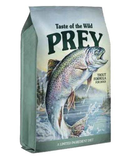Picture of Taste Of The Wild Prey Grain Free Limited Ingredient Formula Adult Trout - 25 lbs.