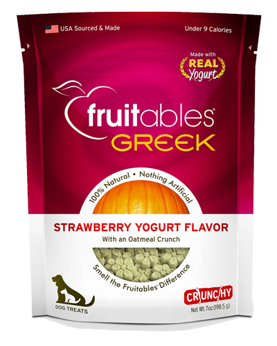 Picture of Fruitables Crunchy Greek Strawberry Yogurt Flavor Treats - 7 oz.