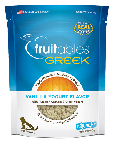 Picture of Fruitables Crunchy Greek Vanilla Yogurt Flavor Treats - 7 oz.