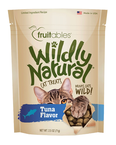 Picture of Fruitables Wildly Natural Tuna Flavor Cat Treats - 2.5 oz.