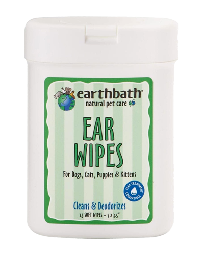 Picture of Earthbath Ear Wipes - 25 ct