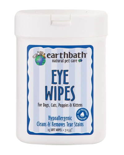 Picture of Earthbath Eye Wipes - 25 ct