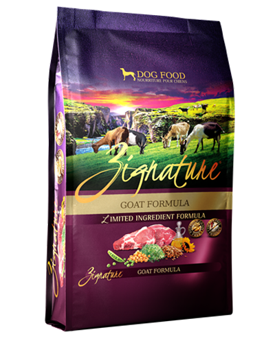 Picture of Zignature Grain Free Limited Ingredient Goat Formula - 4 lbs.