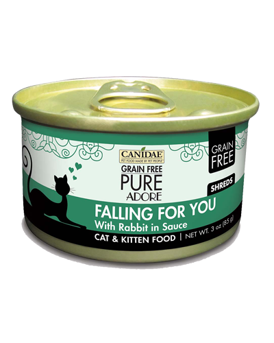 Picture of Canidae Grain Free PURE Adore Falling For You Shredded Rabbit in Sauce - 3 oz.