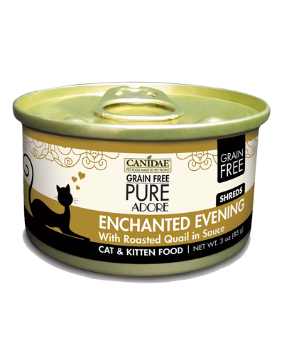 Picture of Canidae Grain Free PURE Adore Enchanted Evening Shredded Roasted Quail Pate - 3 oz.