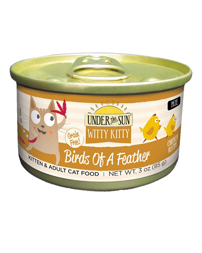 Picture of Canidae Under the Sun Witty Kitty Birds of a Feather Grain Free Chicken Pate - 3 oz.