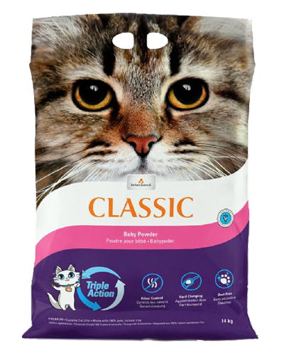 Picture of Intersand Classic Clumping Litter with Baby Powder Scent - 14 lb.
