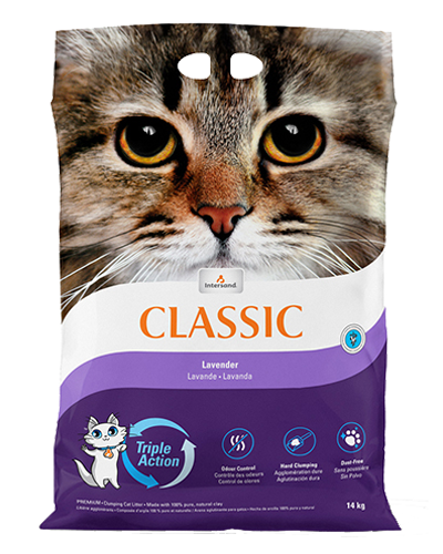 Picture of Intersand Classic Clumping Litter with Lavender Scent - 30 lb.