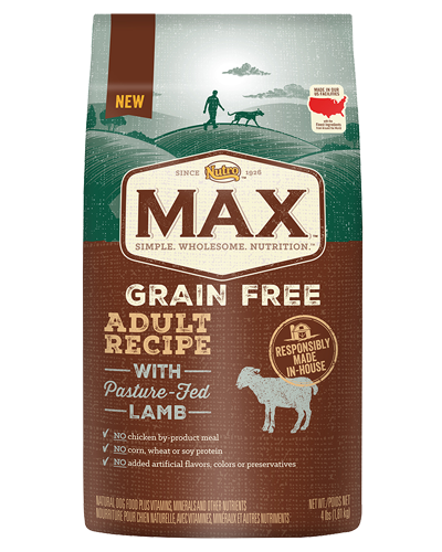Picture of Nutro Max Grain Free Adult Pasture Fed Lamb - 4 lbs.
