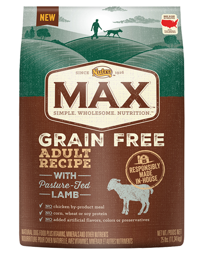 Picture of Nutro Max Grain Free Adult Pasture Fed Lamb - 25 lbs.