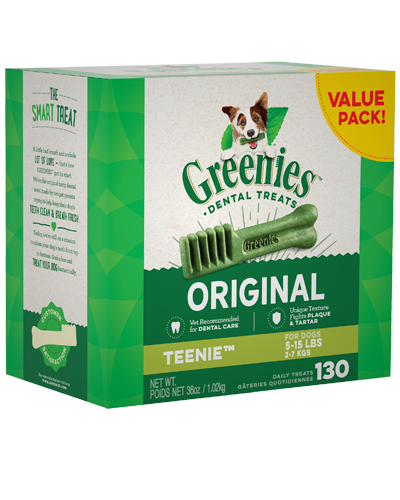 Picture of Greenies Original Teenie Dog Dental Treats - 36 oz.