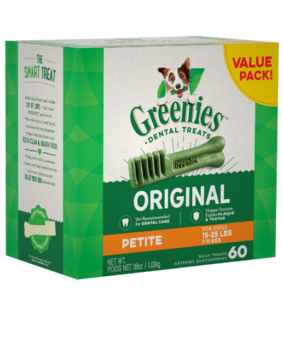 Picture of Greenies Original Petite Dog Dental Treats - 36 oz.