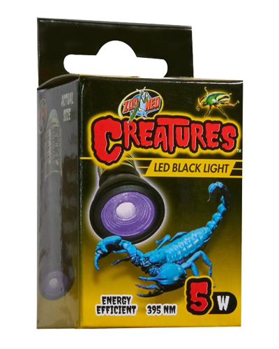 Picture of ZooMed Labs Creatures LED Blacklight - 5 Watt