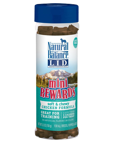 Picture of Natural Balance Limited Ingredient Diet Mini Rewards Grain Free Soft & Chewy Chicken Formula Treats - 5.3 oz.