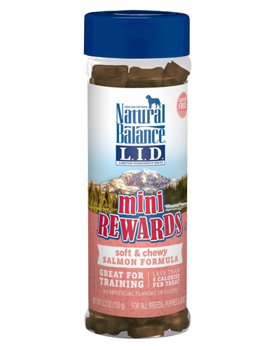 Picture of Natural Balance Limited Ingredient Diet Mini Rewards Grain Free Soft & Chewy Salmon Formula Treats - 5.3 oz.