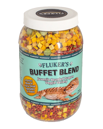 Picture of Fluker's Buffet Blend Veggie Variety for Juvenile Bearded Dragons - 5 oz.