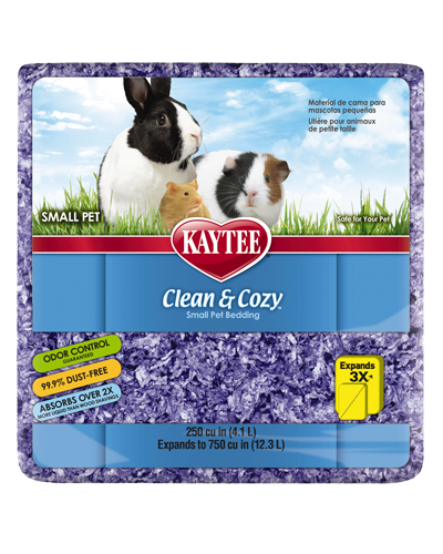 Picture of Kaytee Clean & Cozy Purple Bedding - 4.1 L