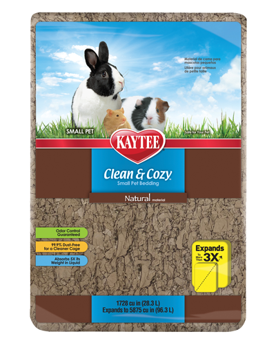 Picture of Kaytee Clean & Cozy Natural Bedding - 28.3 L