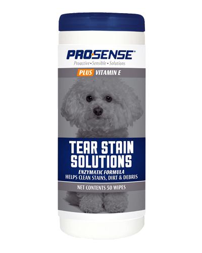 Picture of Prosense Plus Tear Stain Solution Wipes - 50 Ct