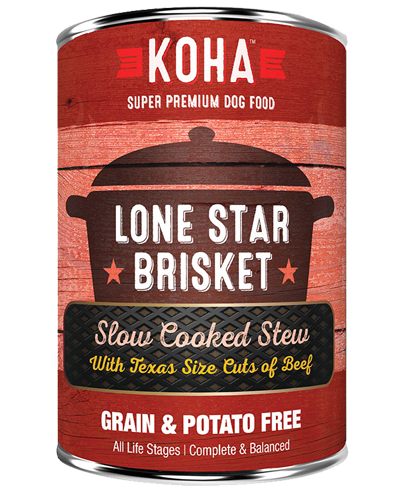 Picture of Koha Grain Free Slow Cooked Stew Lone Star Brisket - 12.7 oz.