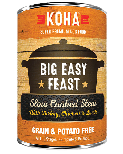 Picture of Koha Grain Free Slow Cooked Stew Big Easy Feast - 12.7 oz.