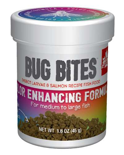 Picture of Fluval Bug Bites Color Enhancing Formula for Medium to Large Fish - 1.6 oz.