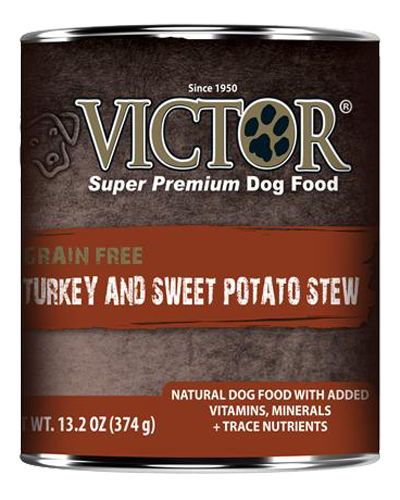 Picture of Victor Grain Free Stew with Turkey & Sweet Potato - 13.2 oz.