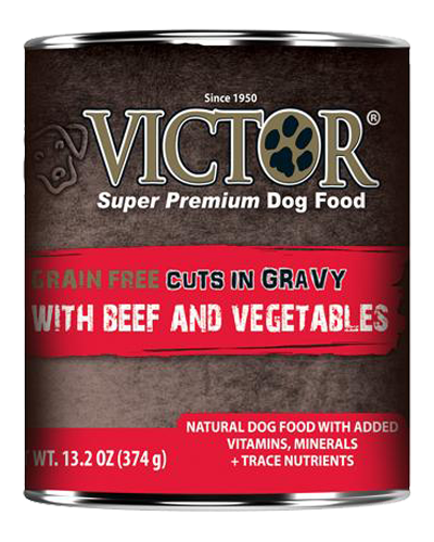 Picture of Victor Grain Free Cuts in Gravy with Beef & Vegetables - 13.2 oz.