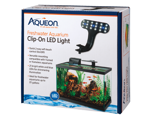 Picture of Aqueon Freshwater Aquarium Clip-ON LED Light
