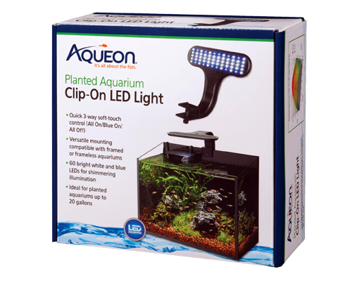 Picture of Aqueon Live Planted Aquarium Clip-On LED