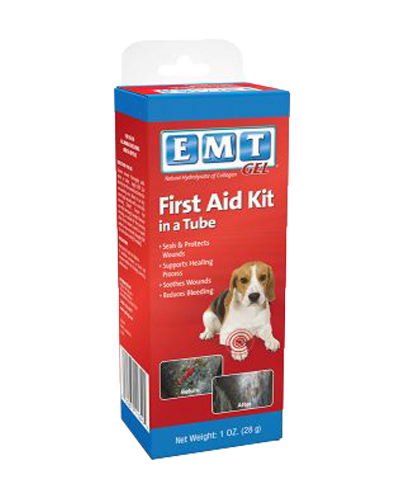 Picture of EMT Gel First Aid Kit in a Tube -  1 oz