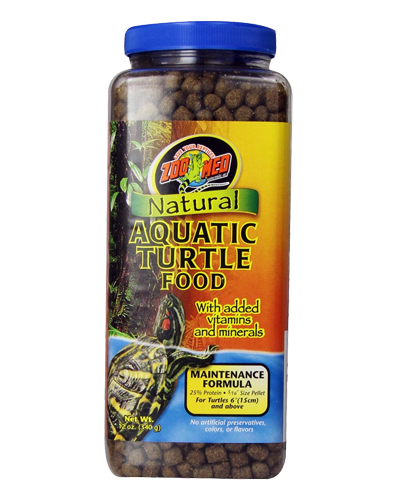 Picture of ZooMed Labs Natural Aquatic Turtle Food Maintenance Formula - 12 oz.
