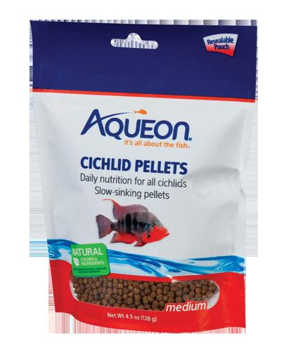 Picture of Aqueon Cichlid Pellets Mini - 4.5 oz