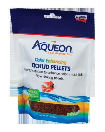 Picture of Aqueon Cichlid Color Enhancing Pellets - 4.5 oz