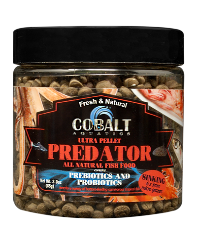 Picture of Cobalt Ultra Predator Micro Grazer Pellets - 3 oz.