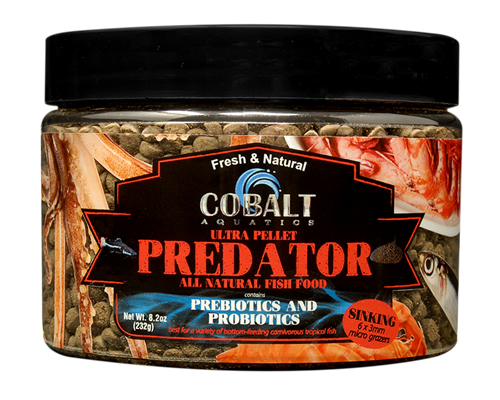 Picture of Cobalt Ultra Predator Micro Grazer Pellets - 8.2 oz.