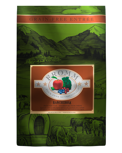 Picture of Fromm Four Star Grain Free Rancherosa Formula - 26 lbs