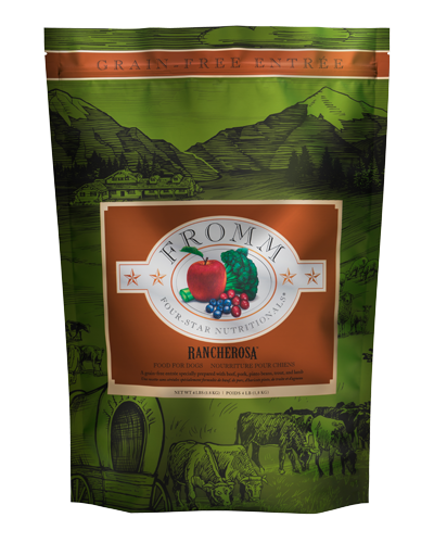Picture of Fromm Four Star Grain Free Rancherosa Formula - 4 lbs