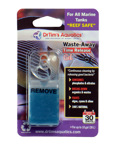 Picture of Dr. Tim's Aquatics Saltwater Waste-Away Time Release Gel - 10 Gal 1 Pack