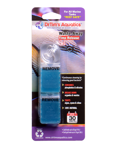 Picture of Dr. Tim's Aquatics Saltwater Waste-Away Time Release Gel - 10 Gal 2 Pack